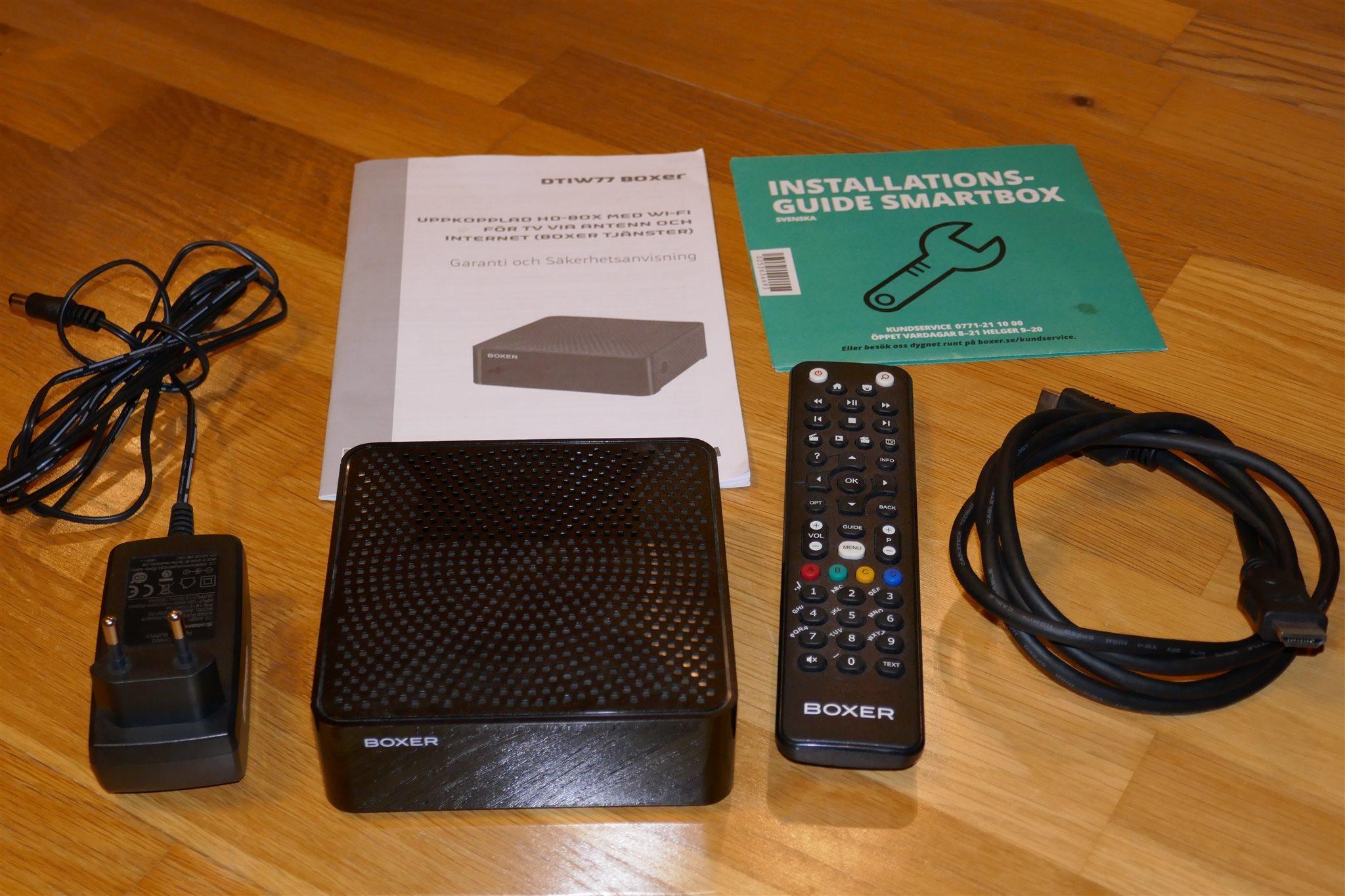 wifi mottagare till digitalbox