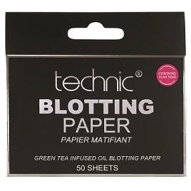Technic Cosmetics Technic Green Tea Blotting Paper Sheets