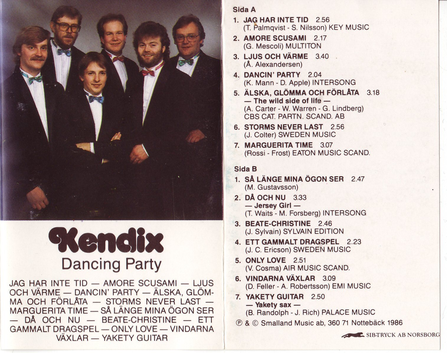 Kendix - Dancing Party