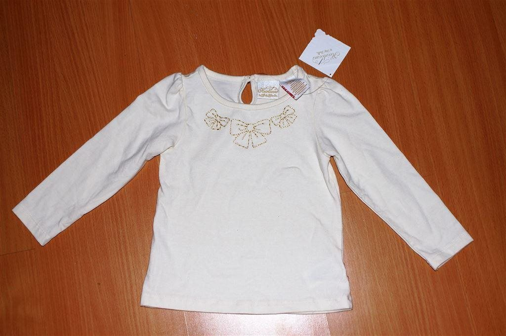 NY vit tröja str 92 med tags kvar topp blus bar.. (341976605) ᐈ Köp ... ccf192f1c89a2