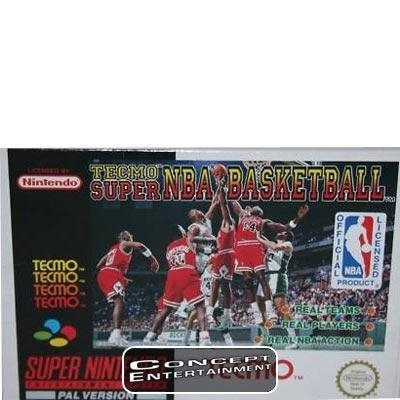 TECMO SUPER NBA BASKETBALL till Super Nintendo SNES