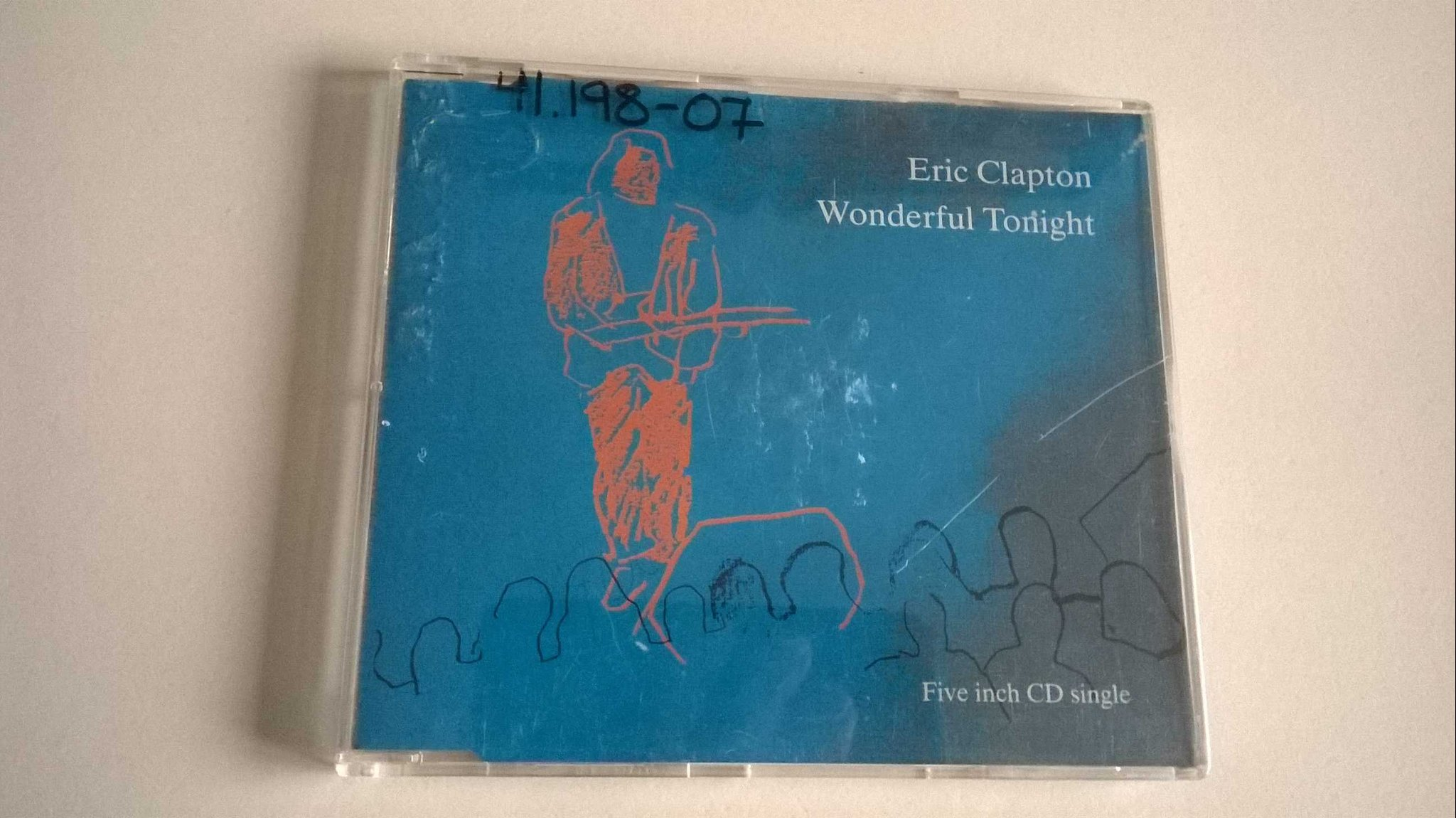 Eric Clapton- Wonderful Tonight, five inch cd single