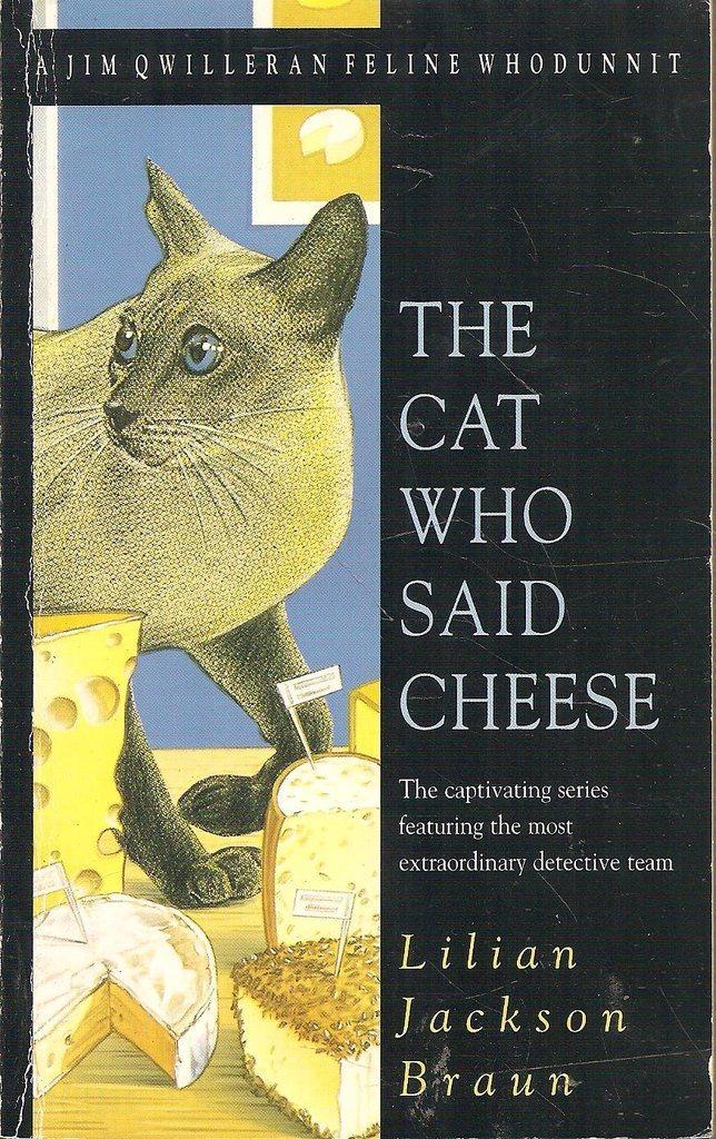 the cat who said cheese braun lilian jackson