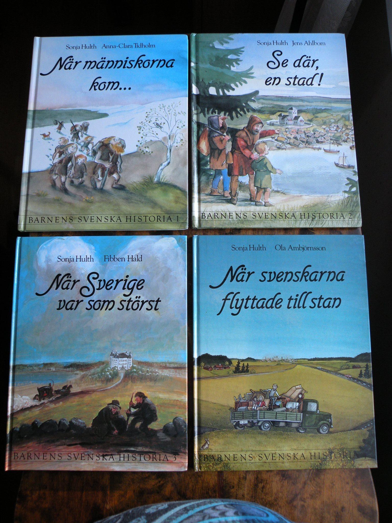 Bok: BARNENS SVENSKA SVENSKA SVENSKA HISTORIA av Sonja Hulth 659563