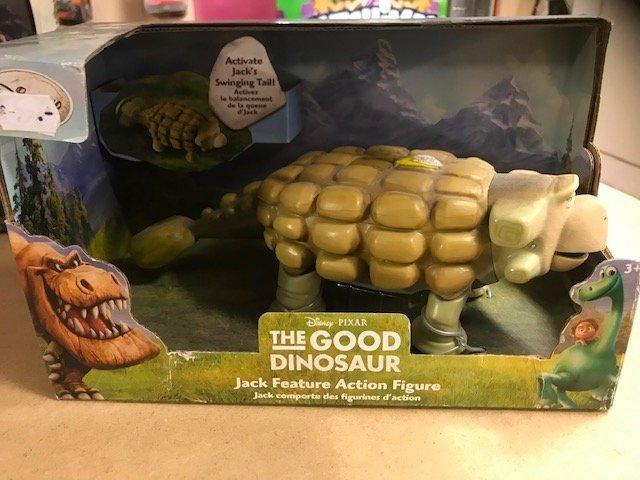 Jack Feature Action Figure Disney Store Pixar The Good Dinosaur Ankylosaurus