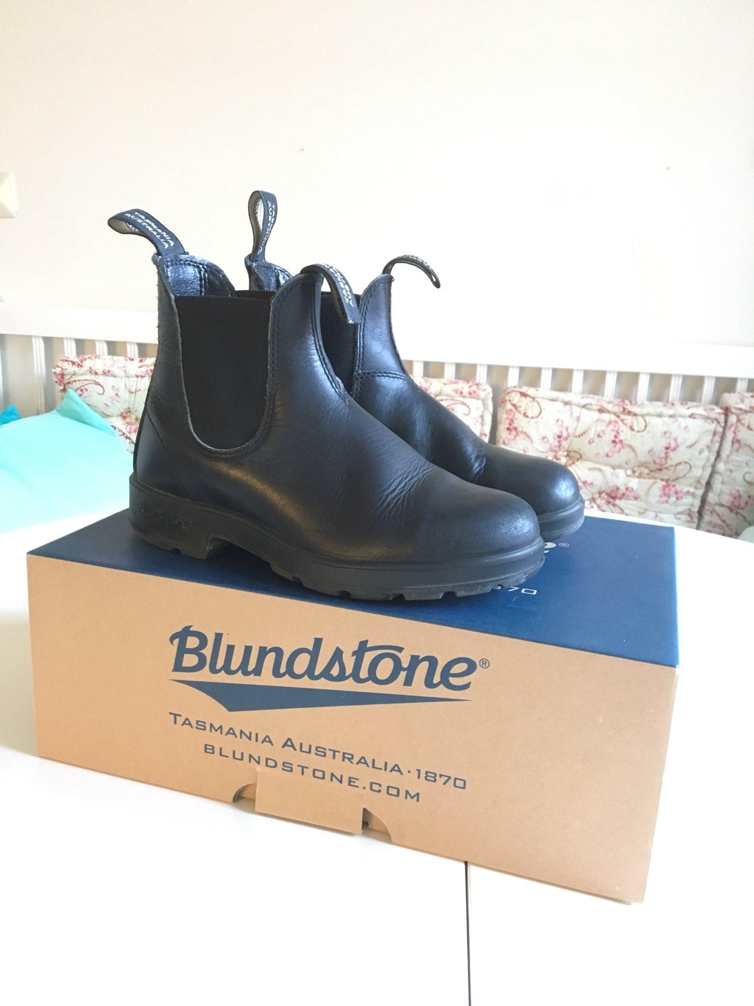 541b952cb82 Blundstone kängor boots Tasmania Australia Model 510 black svart stl 3,5