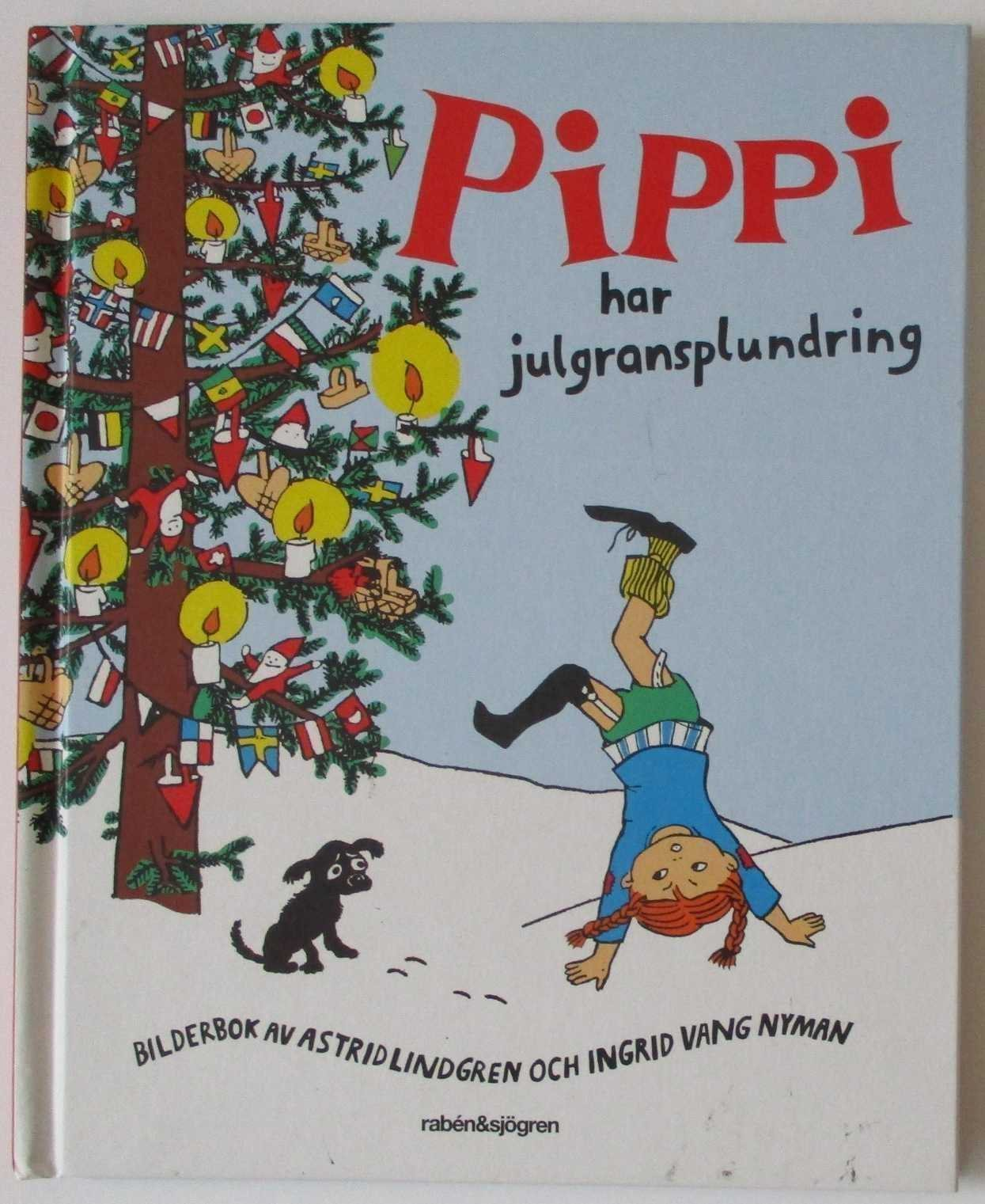 pippi har julgransplundring