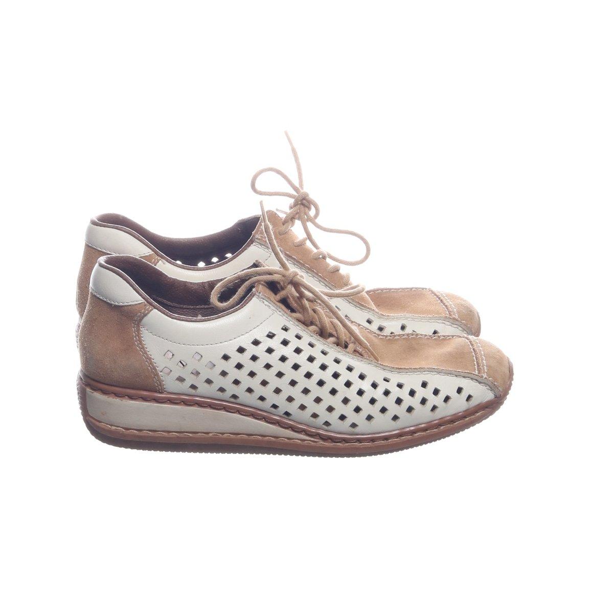 fe113964a68 Rieker, Sneakers, Strl: 37, Beige/Vit, Mo.. (353347671) ᐈ Sellpy på ...