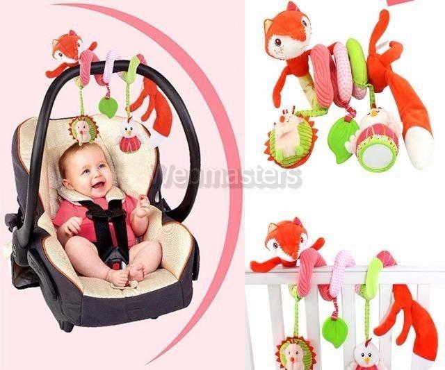 Baby Mobil Räv Mjukdjur För Sängen Vagnen etc