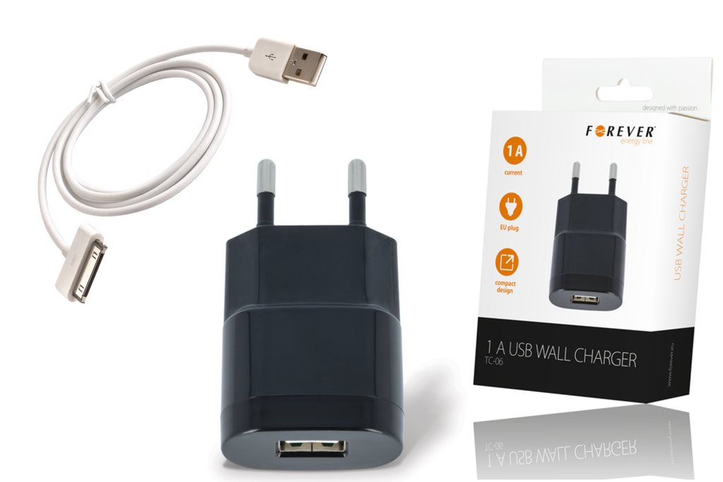 iPhone 44S laddare & usb kabel (281167977) ???SweetGadgets