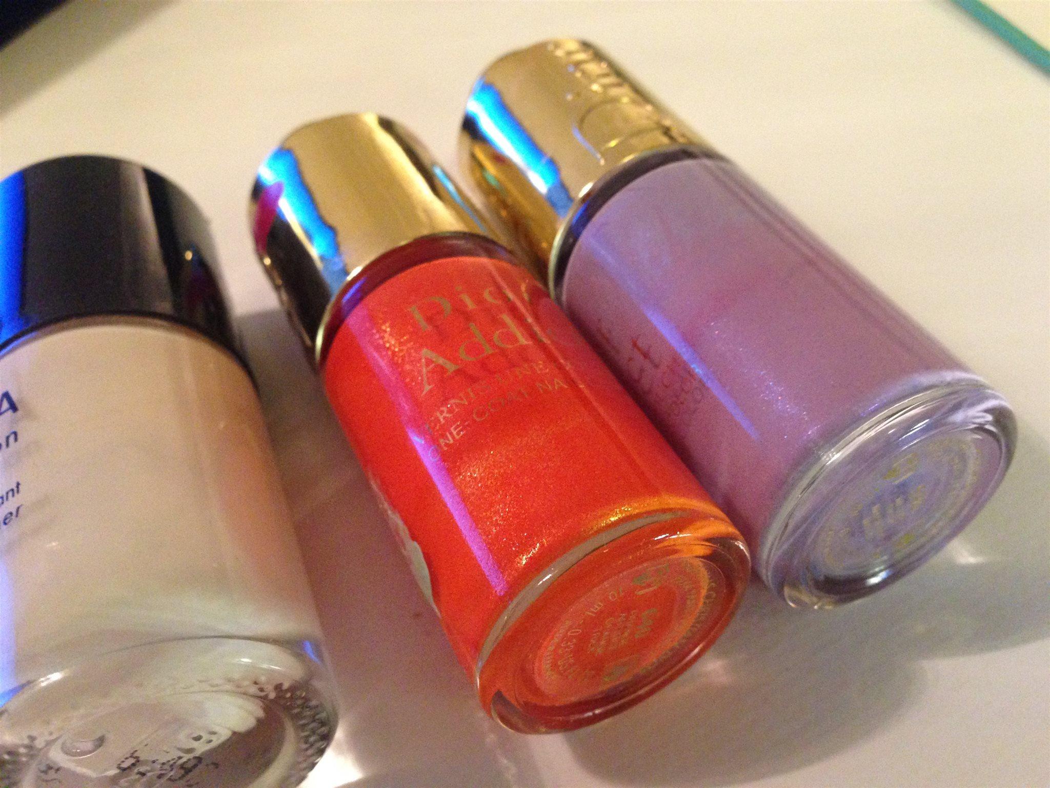 Paket - DIOR. Dior Addict - 2 st. nagellack + SEPHORA - multiaction