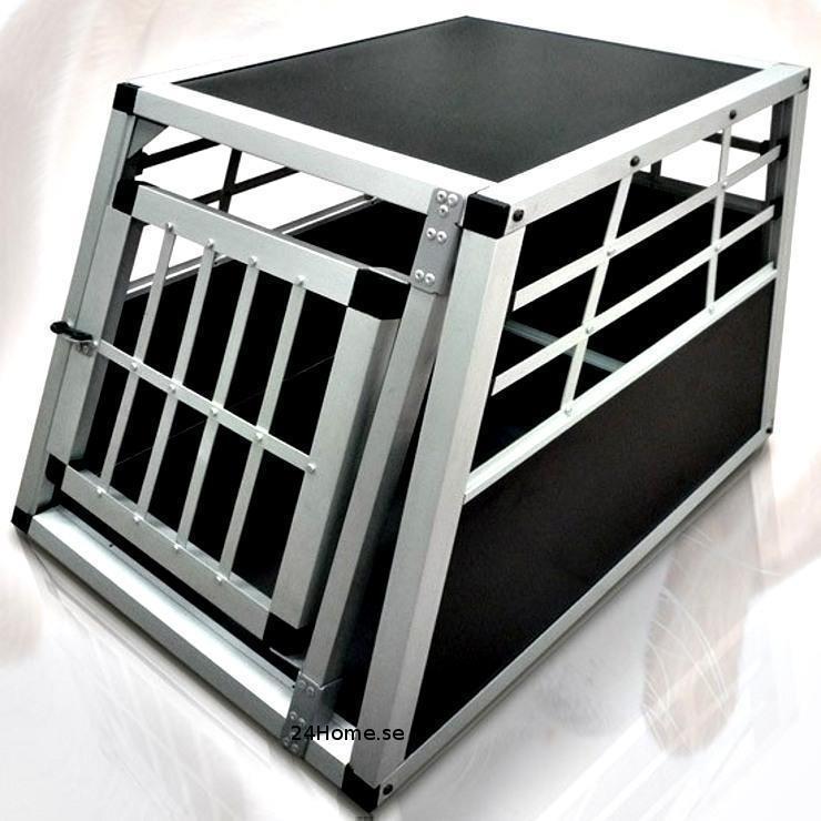 hundbur aluminium transportbur hundbox alu resa hund bil. Black Bedroom Furniture Sets. Home Design Ideas