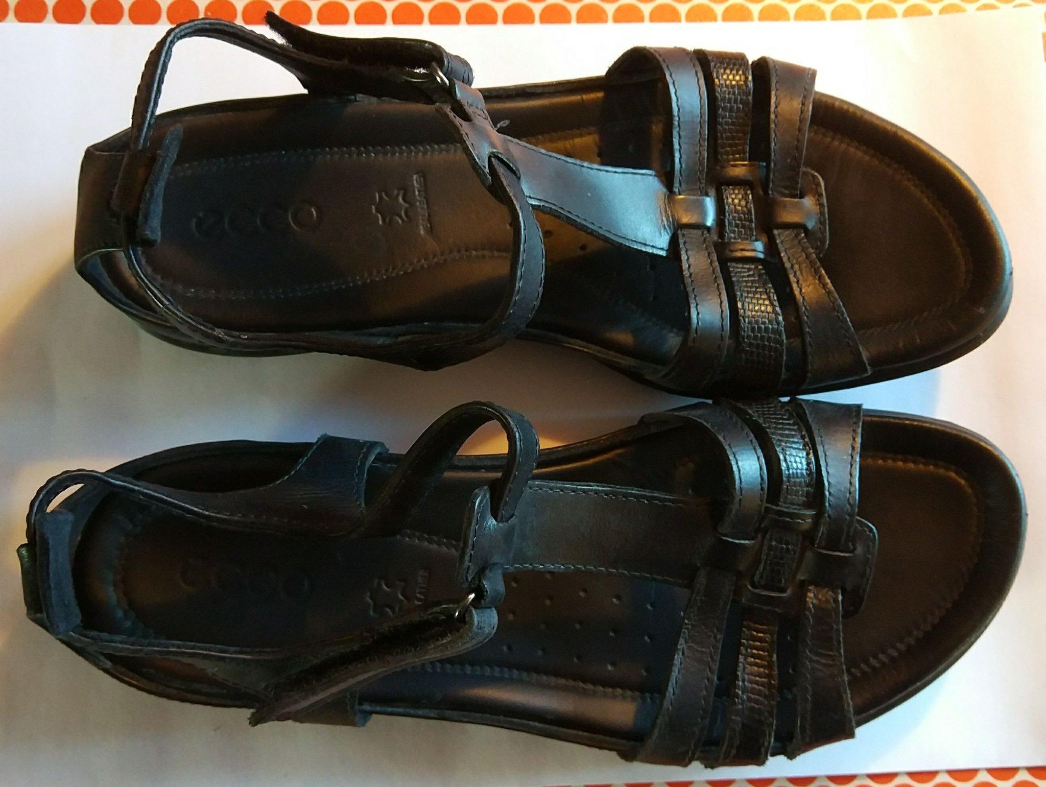 Ecco Flash sandaler i skinn