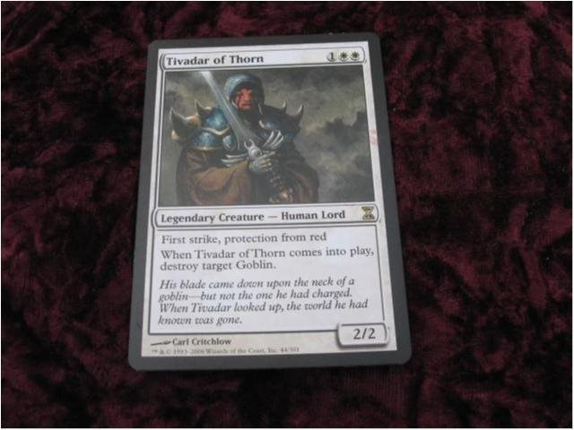 TIVADAR OF THORN RARE LEGEND (VIT TIME SPIRAL) 2/2
