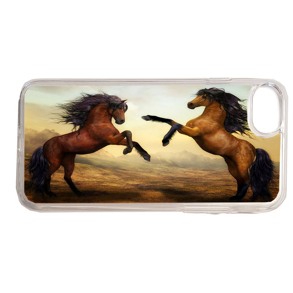 Brun hästar iPhone 7   8 skal genomski.. (339077556) ᐈ CreamTees på ... b888b289bd5a1