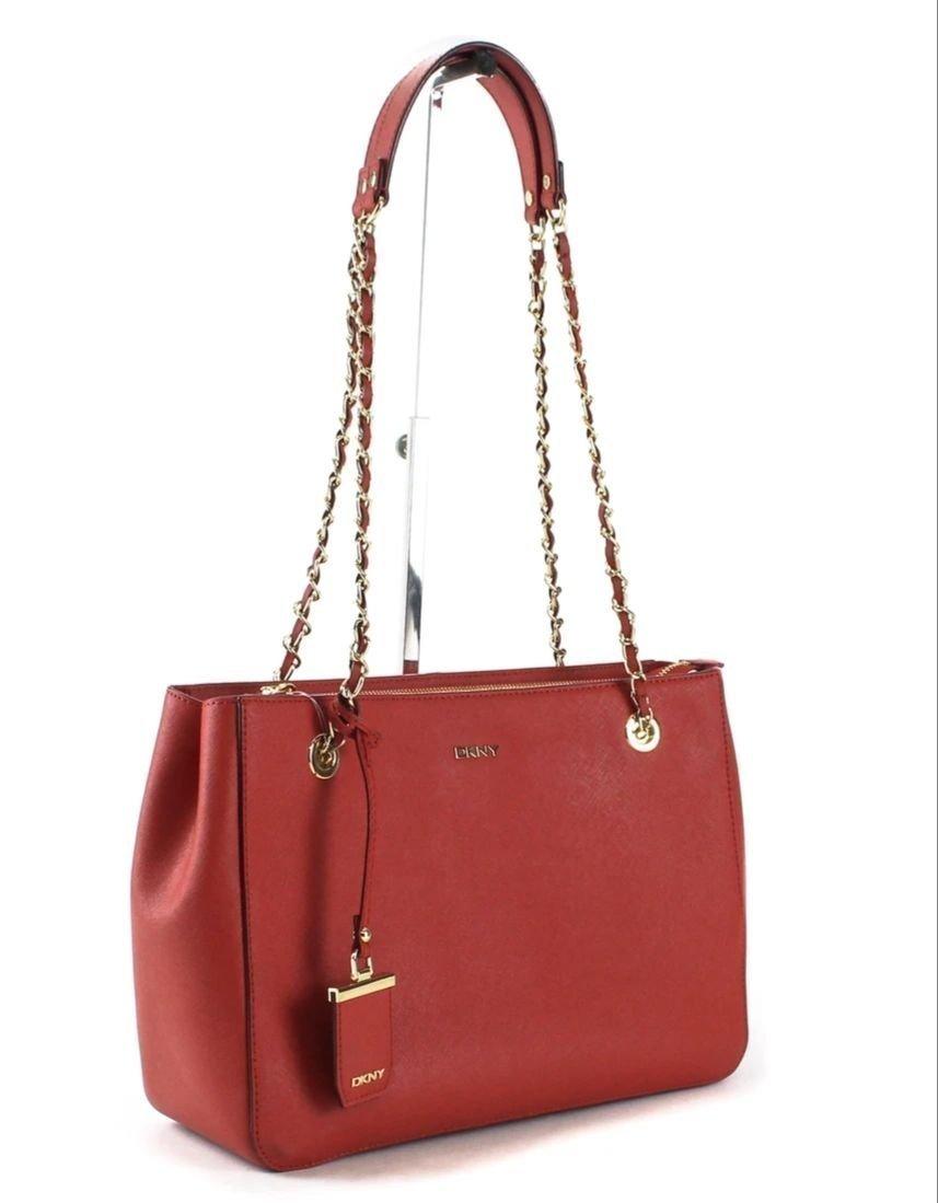 DKNY röd väska