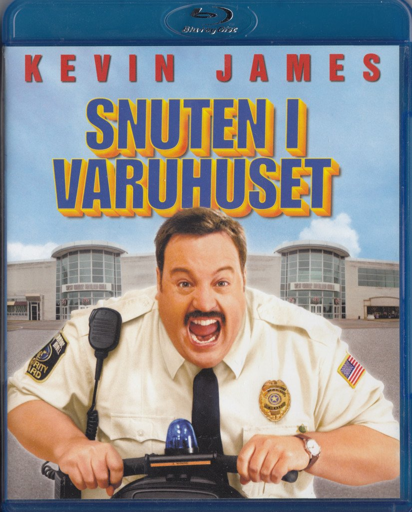 Paul Blart Mall Cop 2009 Blu-ray