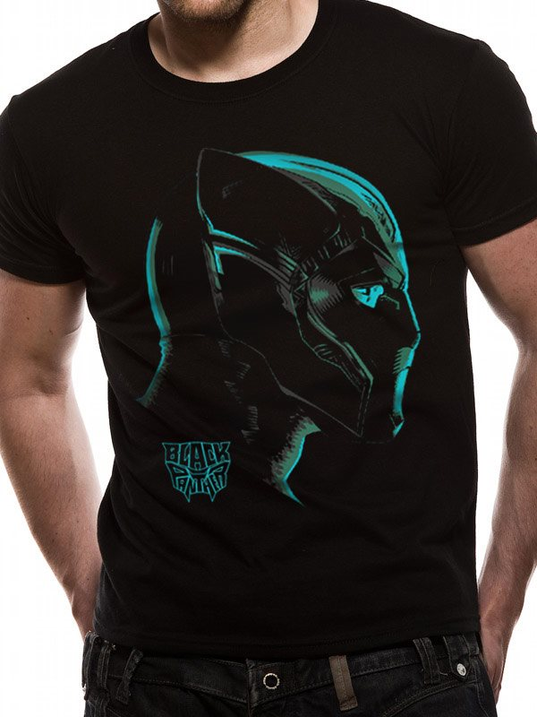 BLACK PANTHER MOVIE - NEON FACE (UNISEX) - 2Extra Large