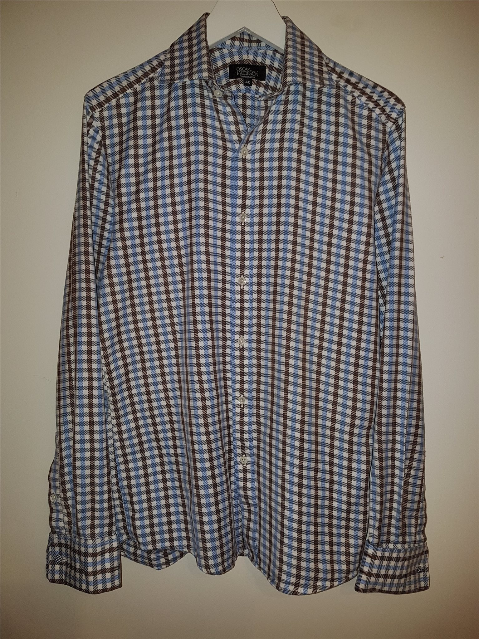 OSCAR of SWEDEN Two Fold skjorta. Storlek 40. på Tradera.com - cbaf1d1ccfce1