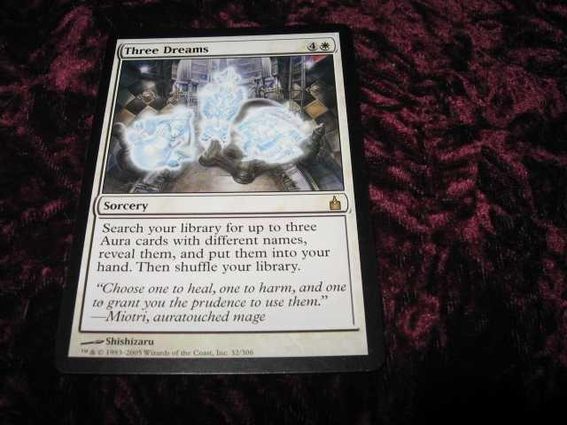 THREE DREAMS RARE(VIT RAVNICA)