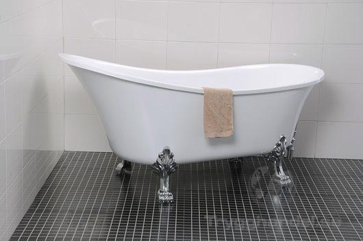 badkar med tassar 150 cm