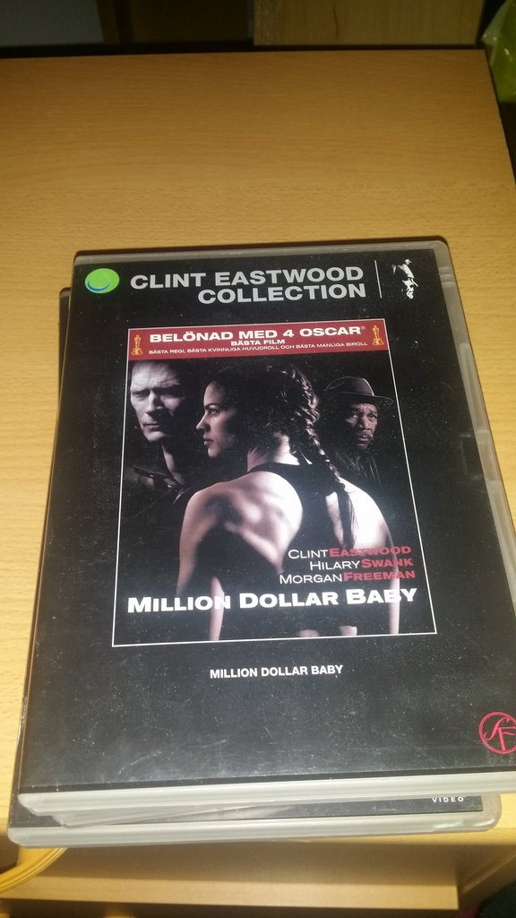Clint Eastwood Collection 26: Million Dollar Baby  - UTGÅTT -