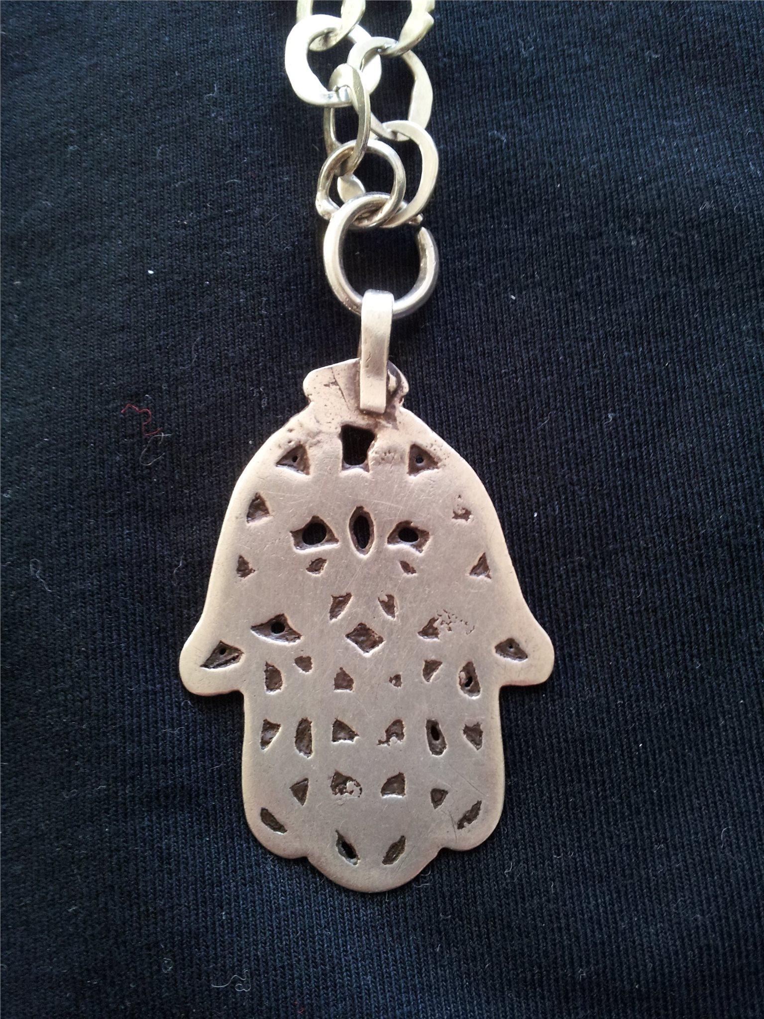 Halsband Hamsa Fatimas Hand Muslimsk Symbol - 6.. (328169997) ᐈ Köp ... 0e3134b38b65a