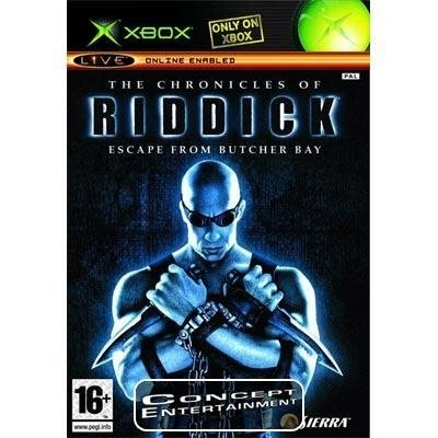 CHRONICLES OF RIDDICK - ESCAPE FROM BUTCHER BAY (komplett) till Microsoft Xbox
