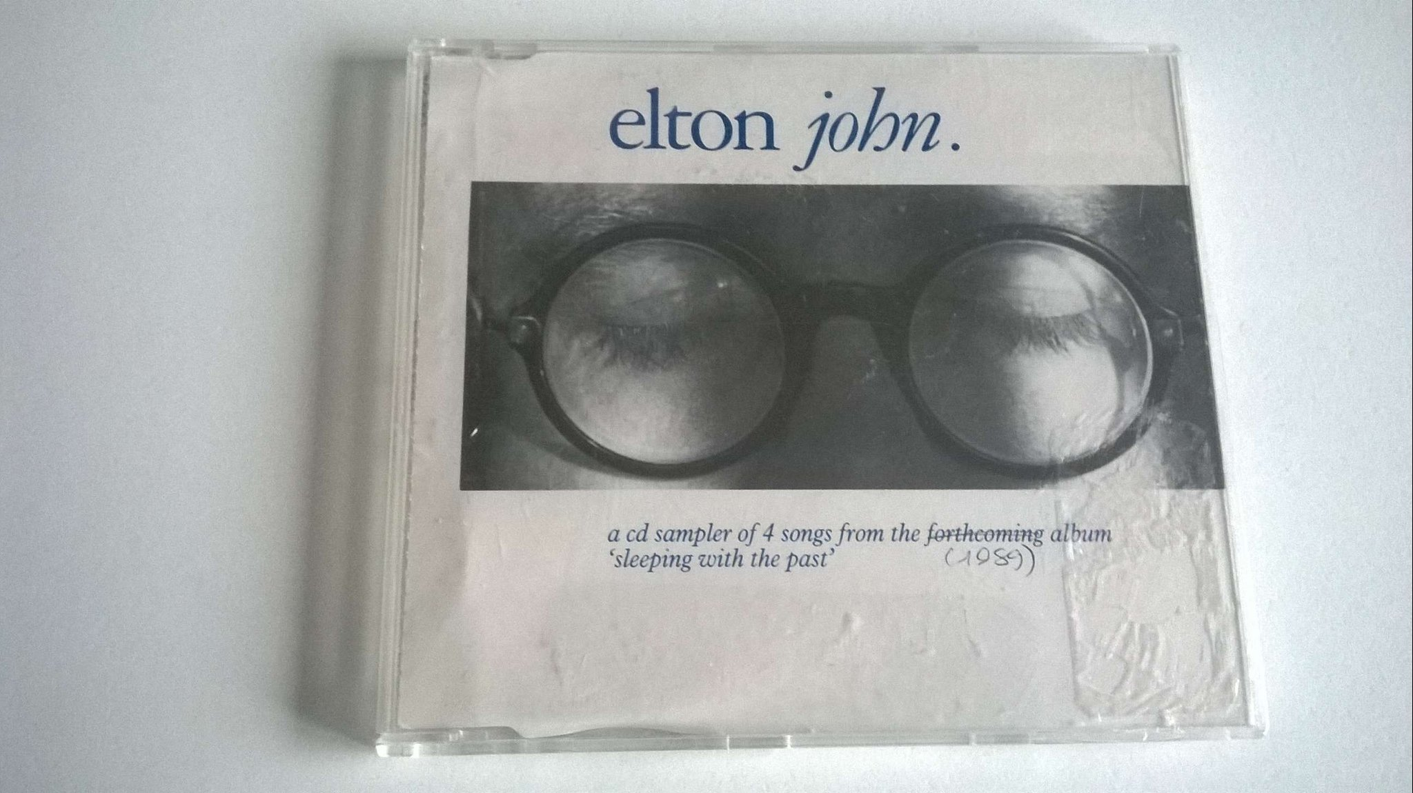 "Elton John .. 4 songs from .. ""sleeping with the past"" Promo"