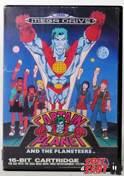 Captain Planet And The Planeteers  (Svensk Version)