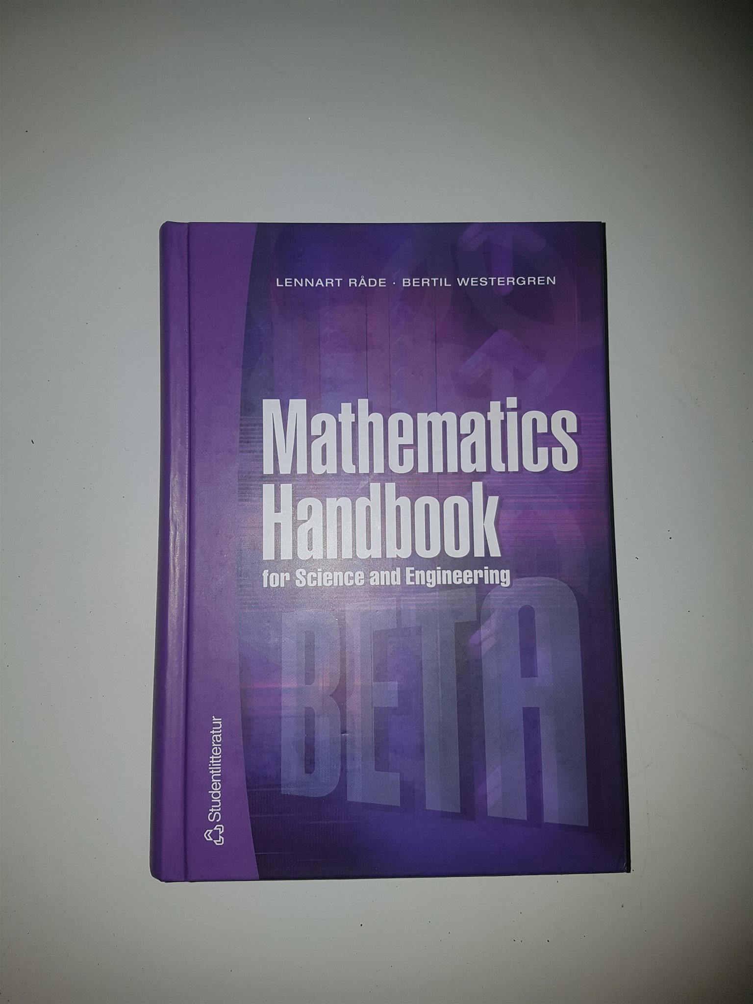 Mathematics handbook, BETA utgåva 4