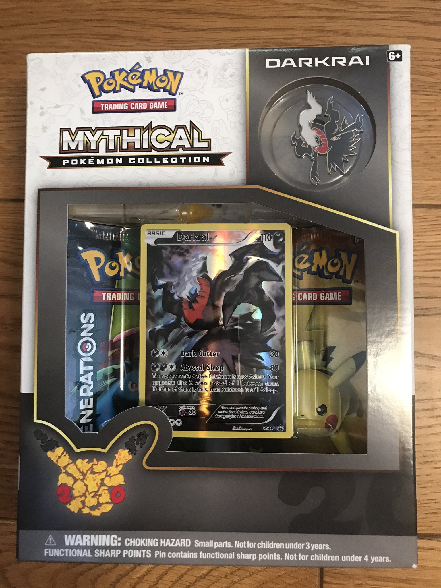 Pokémon - Mythical Pokemon Collection DARKRAI - Trading Card Game