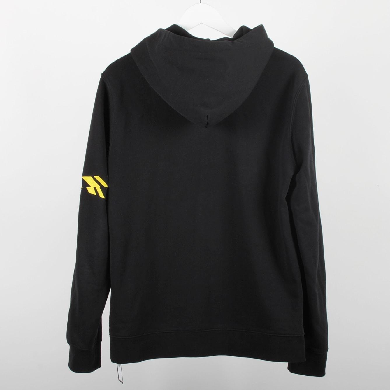 Svart hoodie från J. Lindeberg, strl L