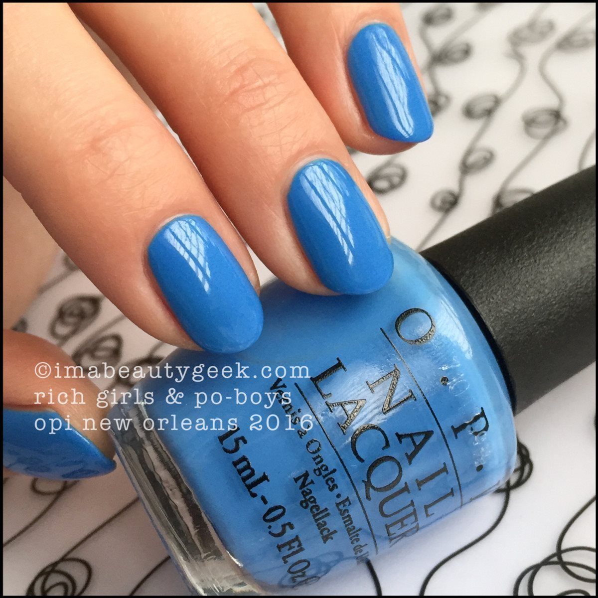 Opi nagellack 15 ml Rich girls po- boys