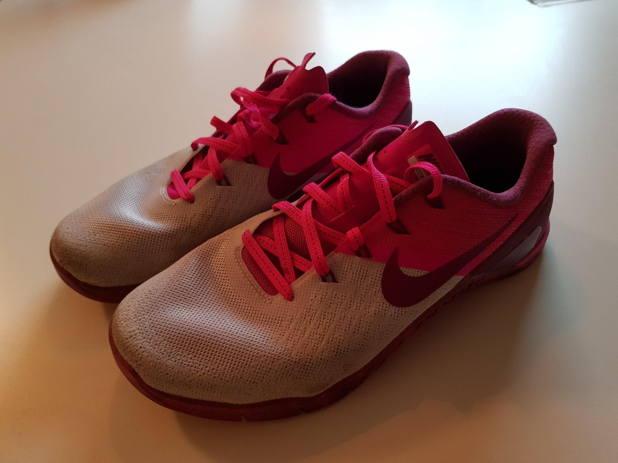Nike Metcon 3 CrossFit skor, obetydligt använ.. (357725659