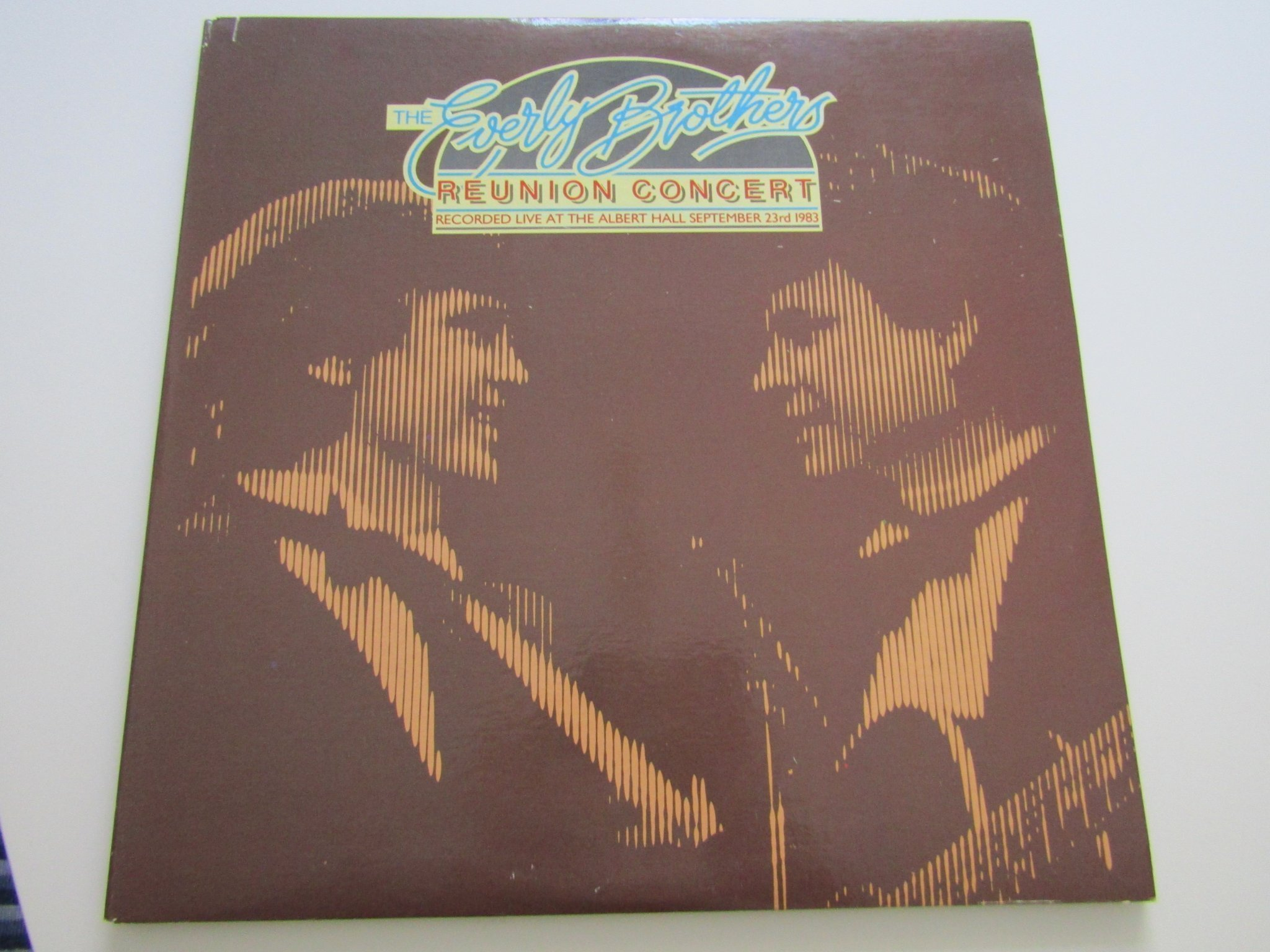The Everly Brothers vinyl Reunion Concert.  2 LP. Passport Records PB 11001.