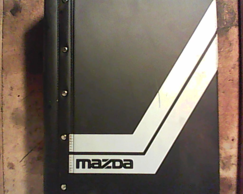 Mazda, verkstadshandbok servicemeddelanden