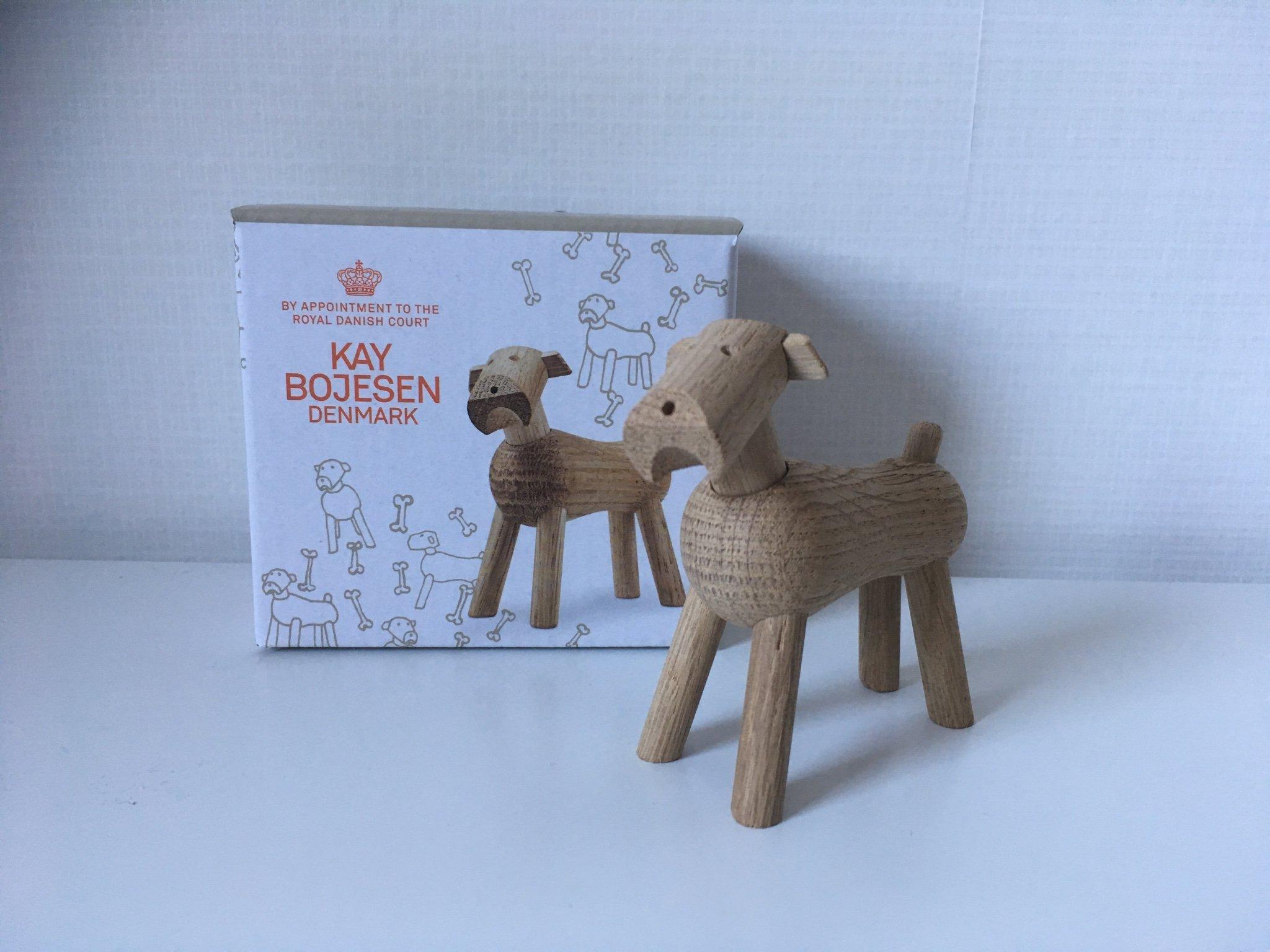 Alle nye NY Kay Bojesen hund Tim i ljus ek. Ny i kartong.. (347731297) ᐈ JN-13