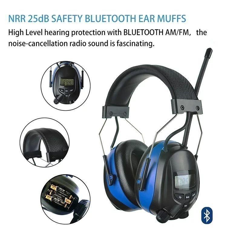 Berömda Bluetooth Hörselskydd NY (353649619) ᐈ Köp på Tradera FJ-28