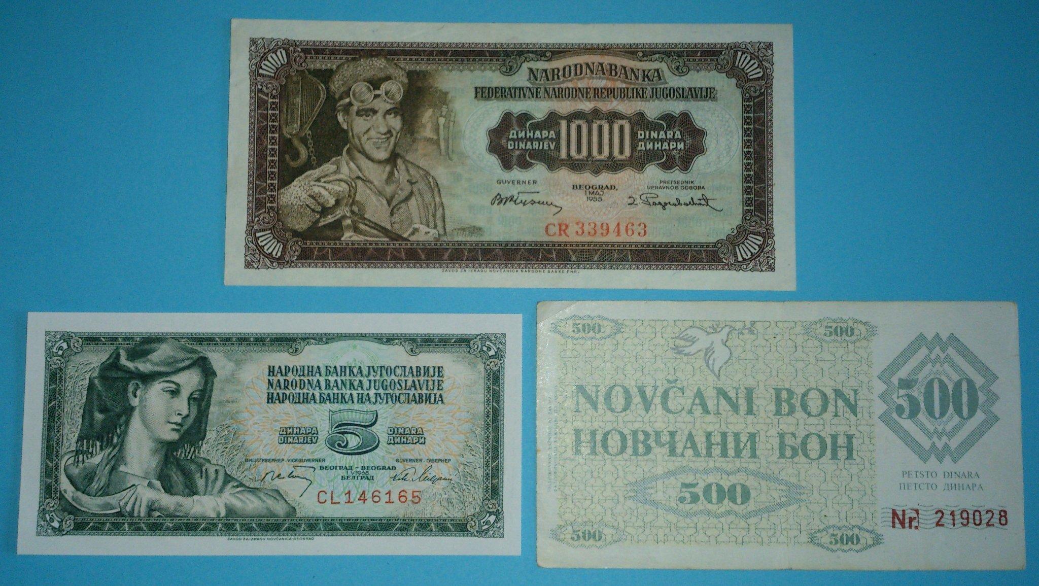 BOSNIA HERZEGOVINA  500 Dinara 1992  UNC   P14