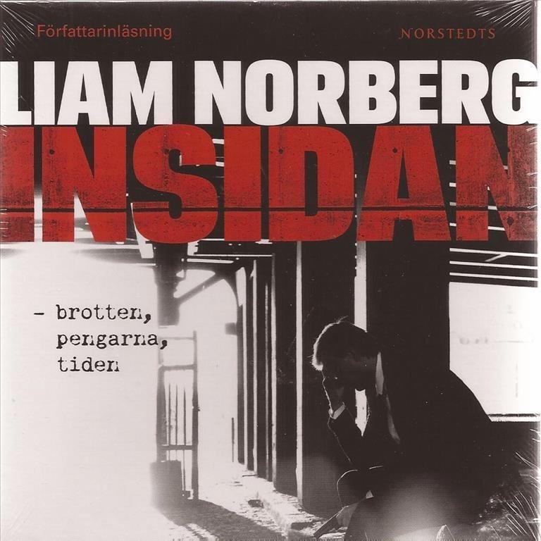 LIAM NORBERG - INSIDAN - brotten pengarna tiden 9 CD Ljudbok NY inplastad