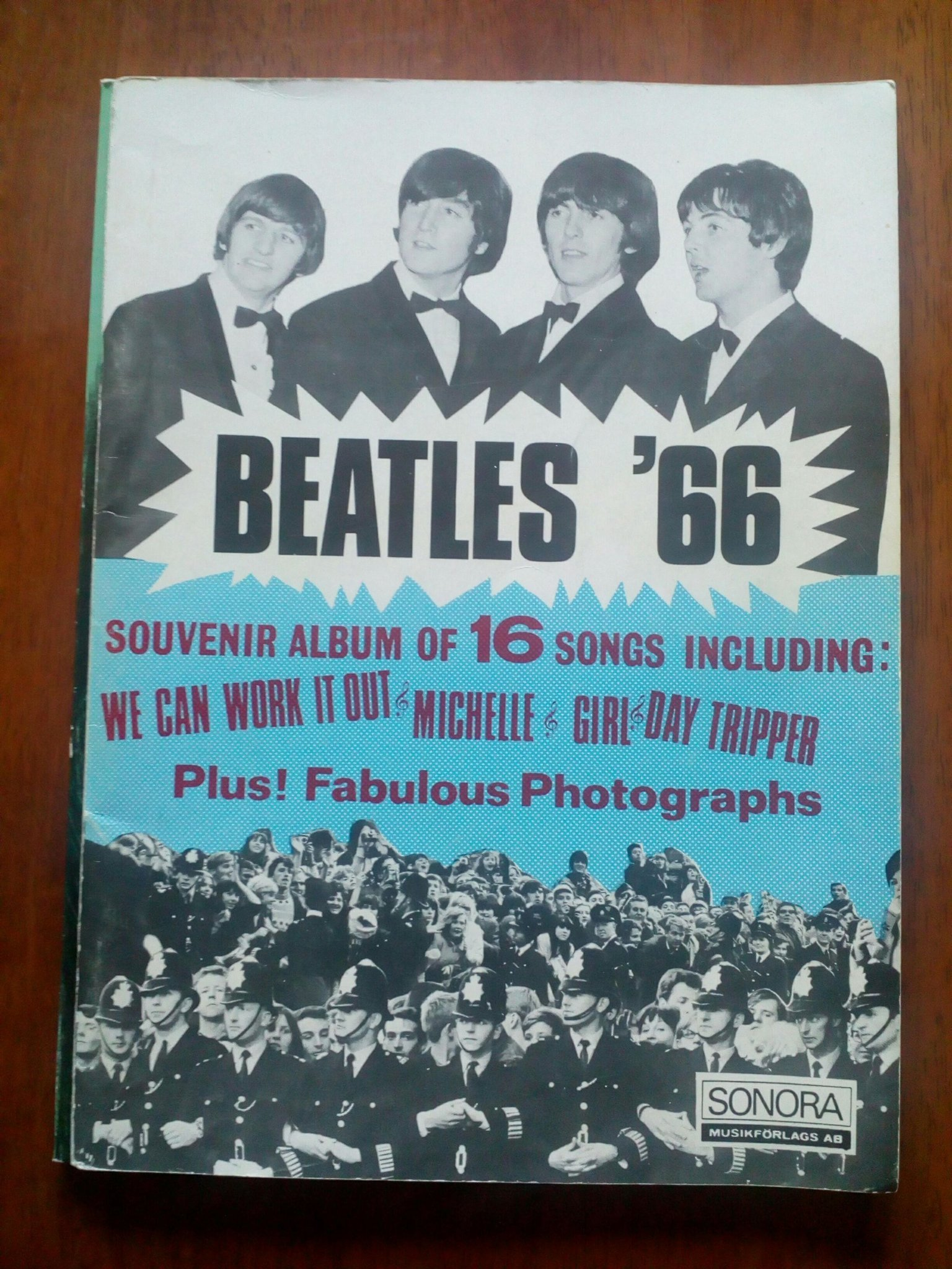THE Beatles notbok etc...1966