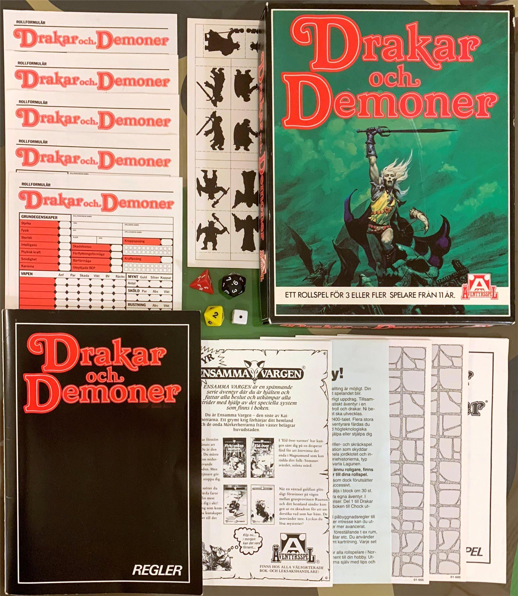 Drakar och Demoner (1985) i toppskick