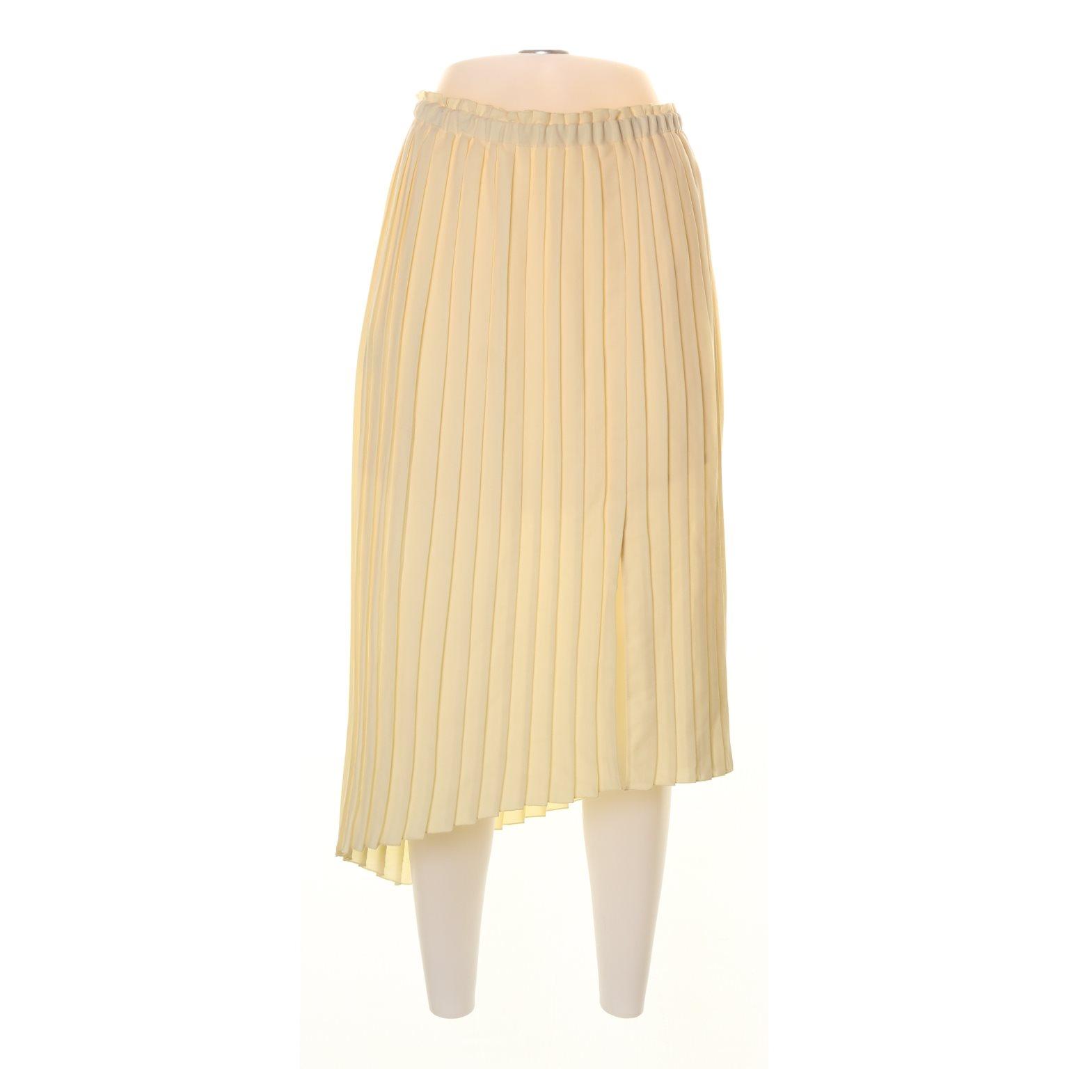 d48b4f8d5823 Mango, Plisserad kjol, Strl: 36, Gul (344916638) ᐈ Sellpy på Tradera