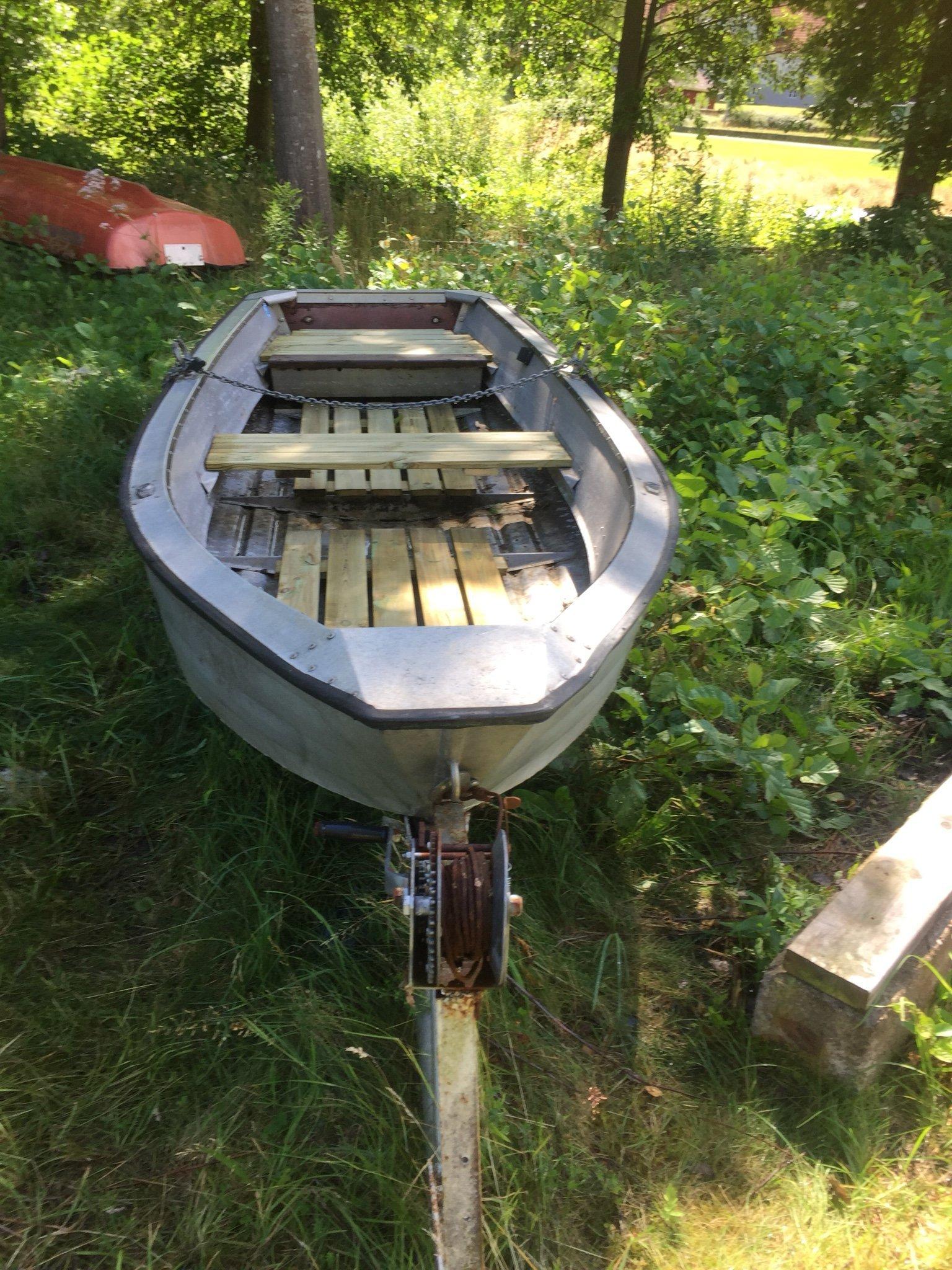 roddbåt aluminium begagnad