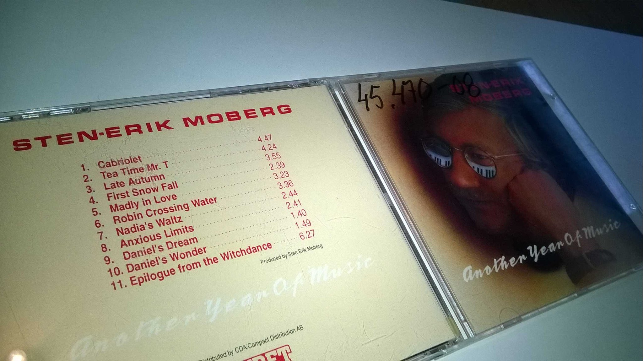 Sten-Erik Moberg - Another year of music, CD, rare!