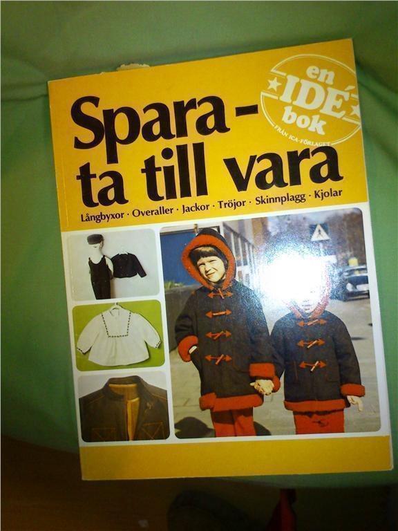 bokHANDARBETE Spara - ta till vara  - 1974  ICA förlaget