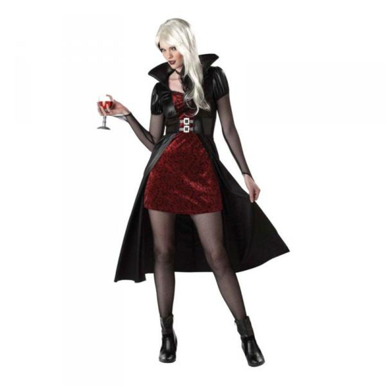 Vampyra Röd  Svart Maskeraddräkt Medium (318744356) ᐈ Hobbyprylar ... b882cec7344d6