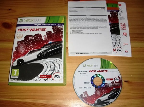 Xbox 360: Need For Speed Most Wanted