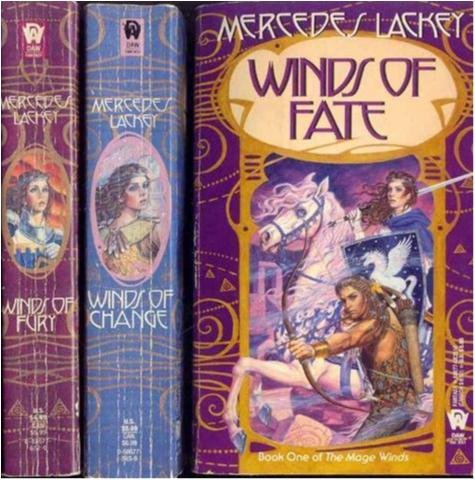 The Mage winds 1-3 Komplett - Mercedes Lackey - Engelsk